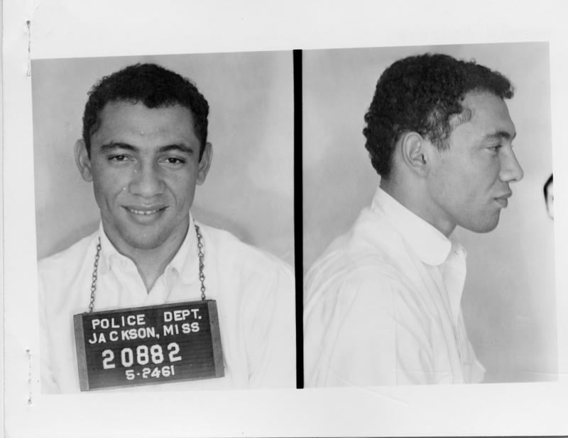 Description- Freedom Rider mug shot Date- Original created- 1961-05-24 Sov. Com. Index- Personal Name(s) Andrews, Harold