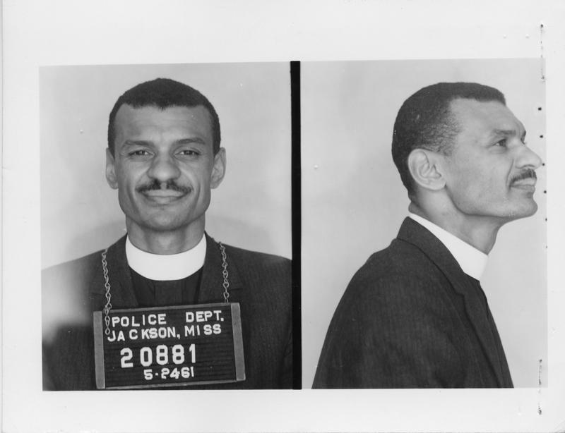 Description- Freedom Rider mug shot Date- Original created- 1961-05-24 Sov. Com. Index- Personal Name(s) Vivian, C.T.