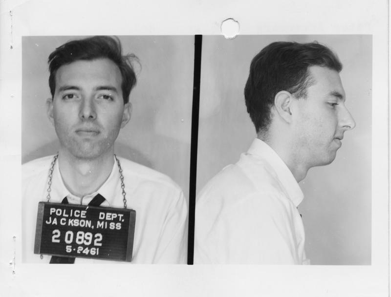 Description- Freedom Rider mug shot Date- Original created- 1961-05-25 Sov. Com. Index- Personal Name(s) Ackerberg, Peter