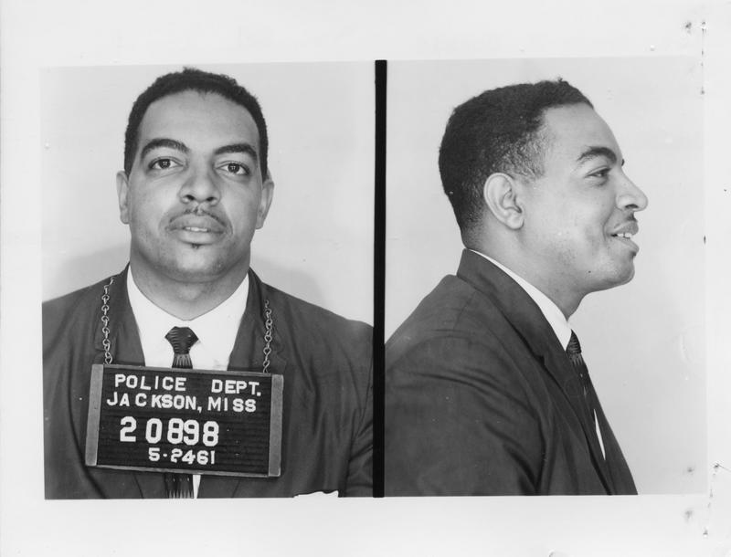 Description- Freedom Rider mug shot Date- Original created- 1961-05-25 Sov. Com. Index- Personal Name(s) Donald, Rev. Grady H.