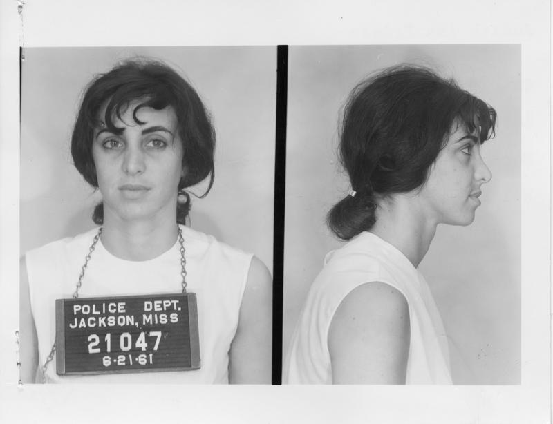 Description- Freedom Rider mug shot Date- Original created- 1961-06-21 Sov. Com. Index- Personal Name(s) Frieze, Judith Ann
