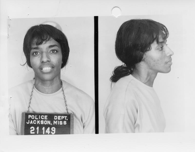Description- Freedom Rider mug shot Date- Original created- 1961-07-09 Sov. Com. Index- Personal Name(s) Rand, Roena