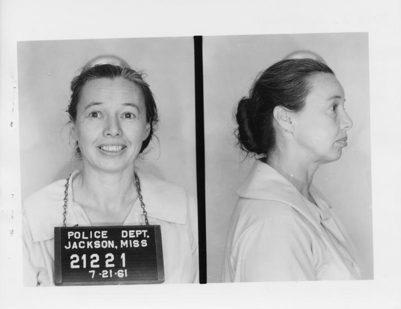 Description- Freedom Rider mug shot Date- Original created- 1961-07-11 Sov. Com. Index- Personal Name(s) Jorgensen, Mary L.