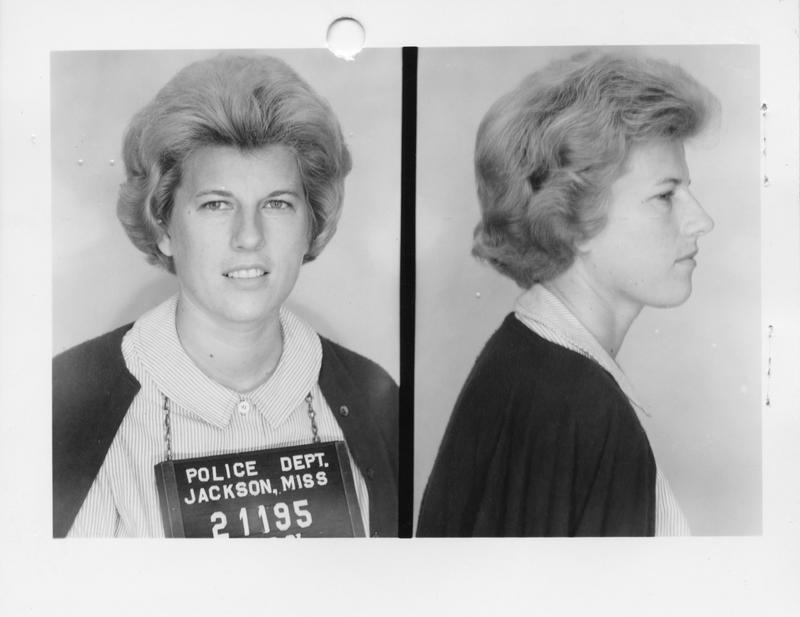 Description- Freedom Rider mug shot Date- Original created- 1961-07-16 Sov. Com. Index- Personal Name(s) Smith, Shirley B.