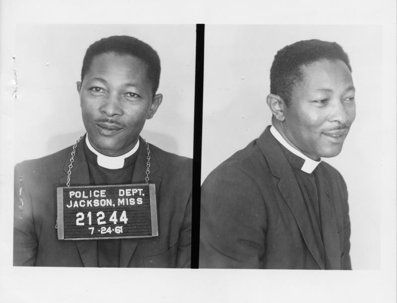 Description- Freedom Rider mug shot Date- Original created- 1961-07-24 Sov. Com. Index- Personal Name(s) Petway, Matthew