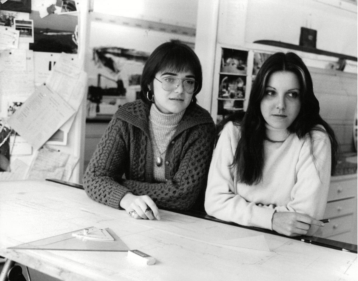 Katharina Kubrick (l) And Tina Broccoli (film Producer) (r) Daughters Of Film Director Stanley Kubrick And Film Producer Cubby Broccoli. Box 698 813071665 A.jpg. 3 Dec 1976