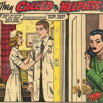 Insecurity-Love-Anguish-Matrimony: The 4 Stages of Every Mid-Century Romance Comic