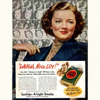 "She Sells Smokes: 30 ""Women-Only"" Vintage Tobacco Ads"