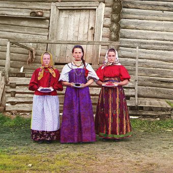 People Of The Russian Empire: Original Color Photos (1909-1915)