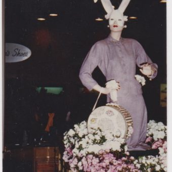 16 Vintage Snapshots Of Funny And Creepy Easter Bunnies