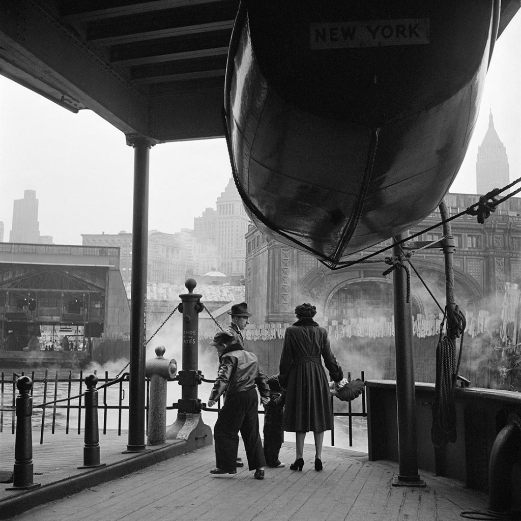 Staten Island Ferry, 1955. Photograph- Vivian Maier:Maloof Collection
