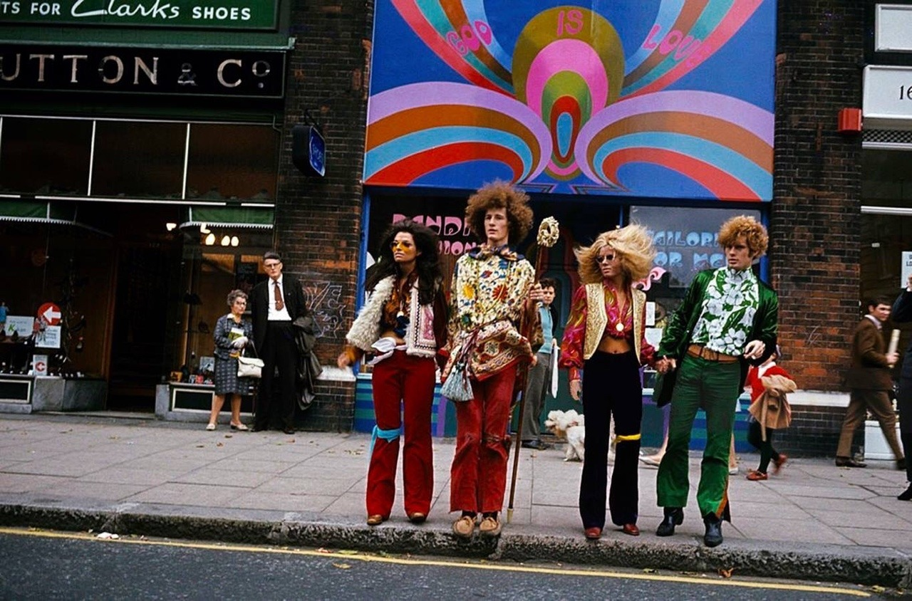 Psychedelic Fashion In London October 1967 Flashbak