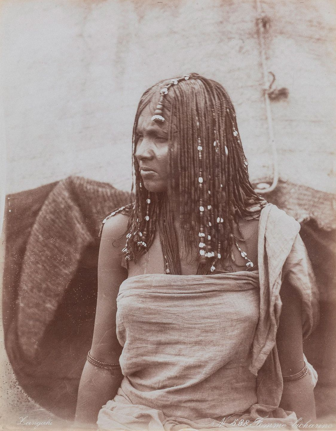 Bicharin woman.