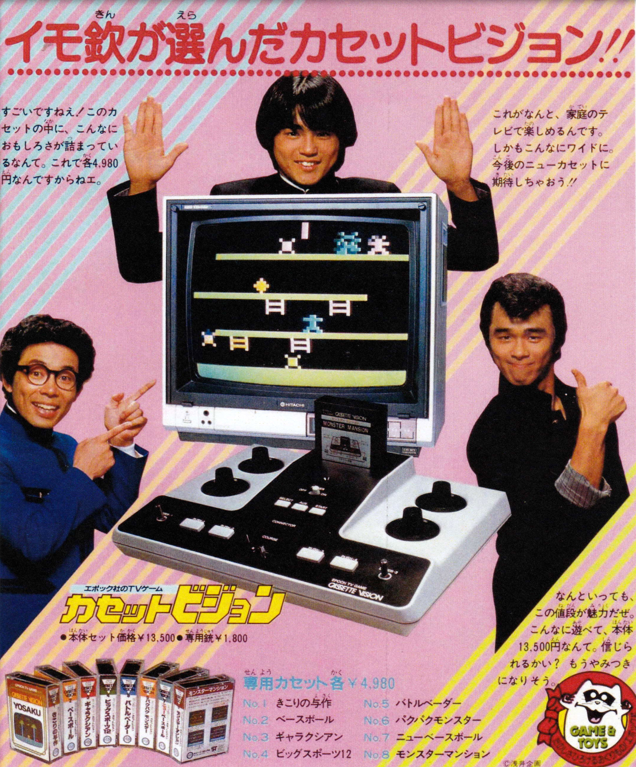Japanese Video Games Ads From The 1980s
