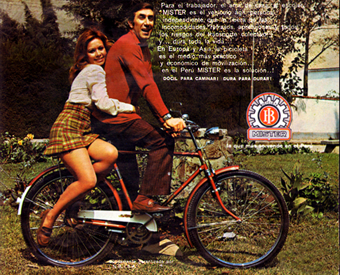 pedaling through the 70s images of couples on bikes flashbak