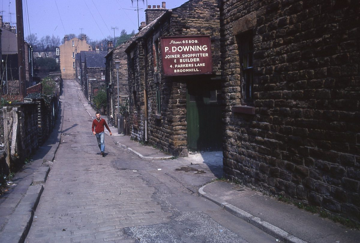Parkers Lane, The Broomhill Study, Sheffield, May 1970