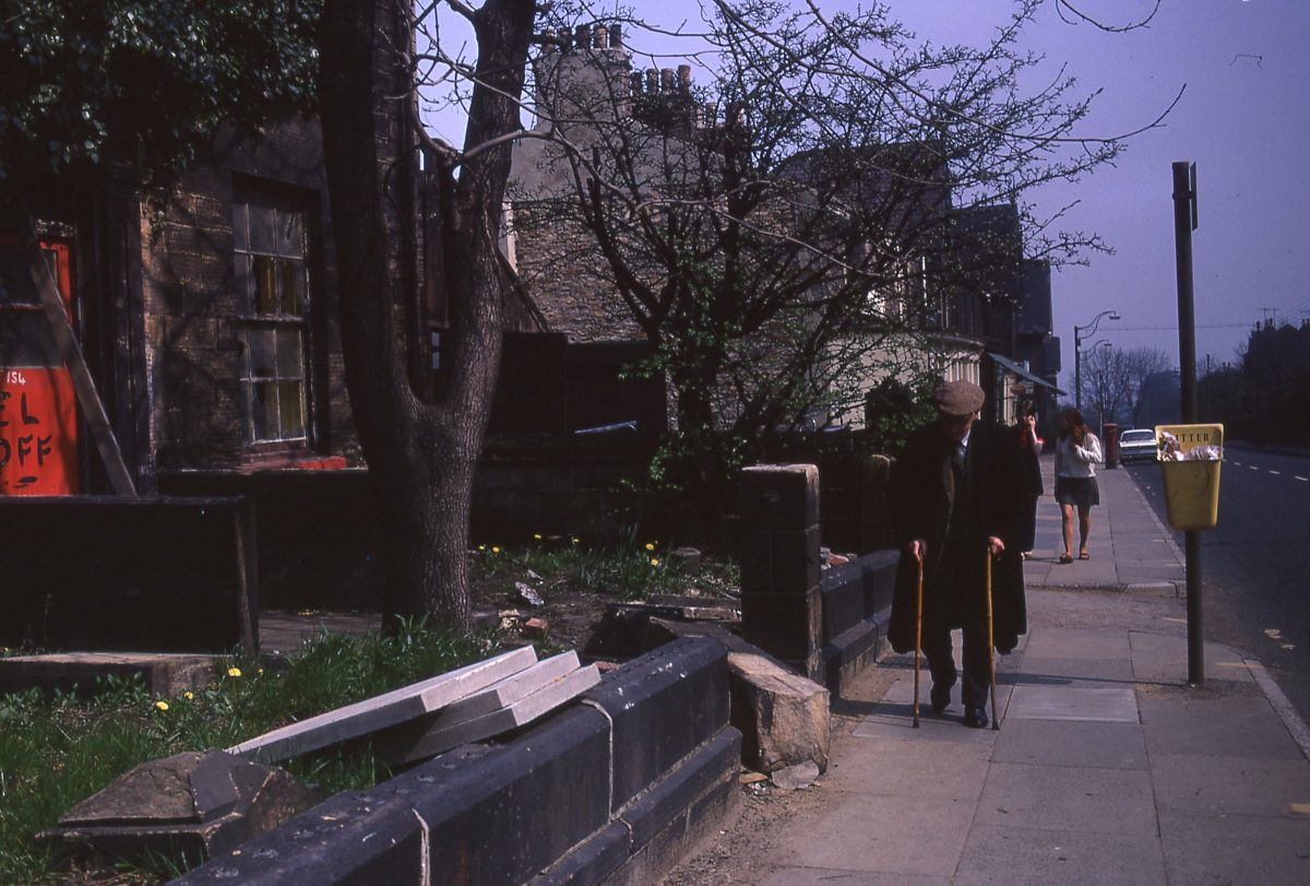 Whitham Road, The Broomhill Study, Sheffield, May 1970
