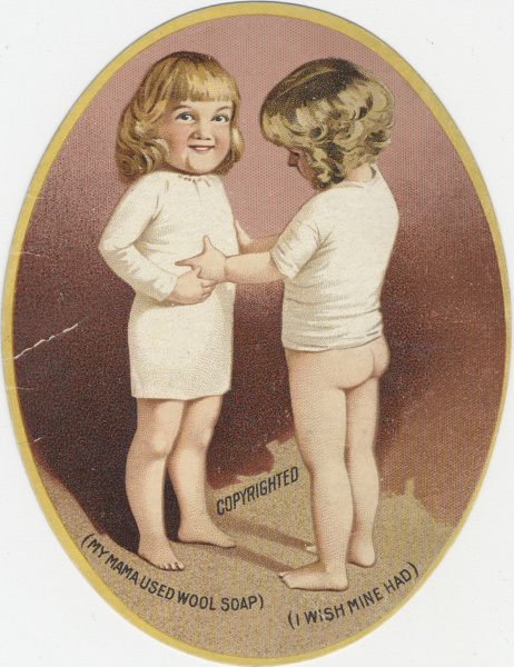 victorian trade cards wool soap
