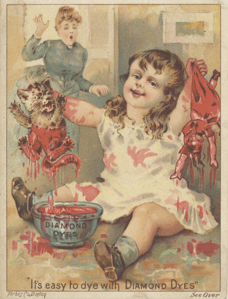 victorian trade cards diamond dyes
