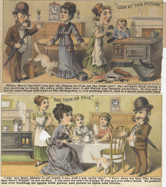 victorian trade cards sexism