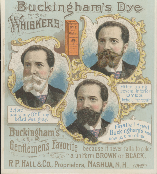 victorian trade cards buckingham's dye