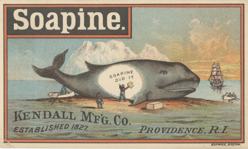 victorian trade cards soapine kendall Rhode Island