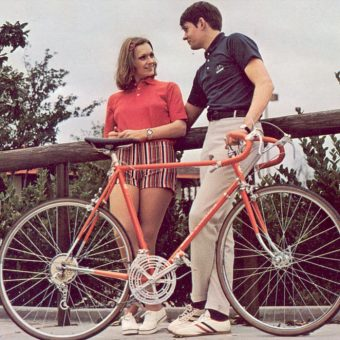 Pedaling Through the '70s: Images of Couples on Bikes