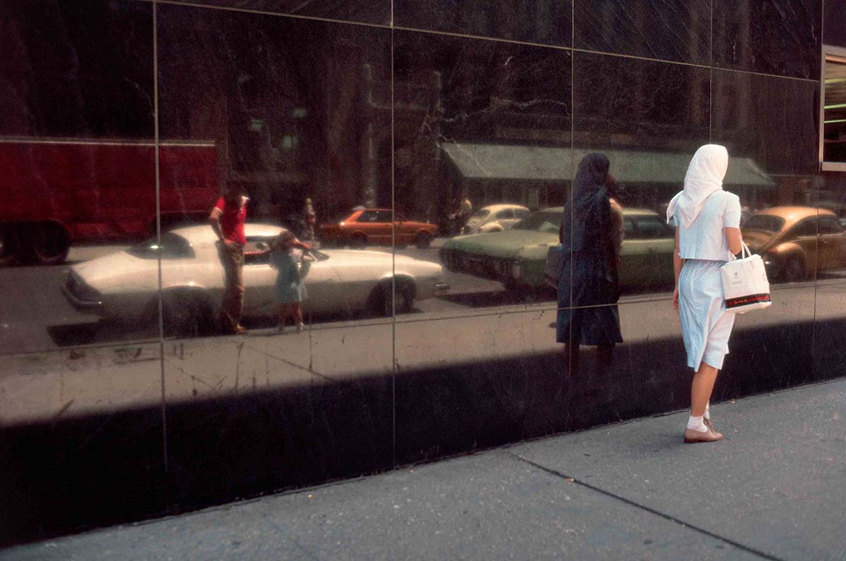 Woman Walking, New York, NY 1981