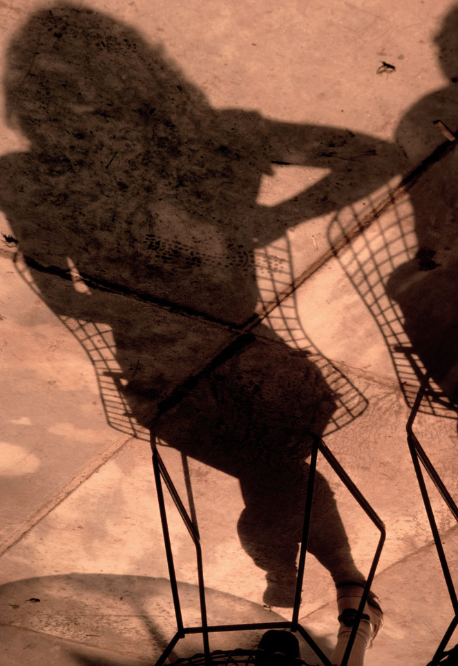 Shadow of a Woman at MoMA, New York, NY 1981