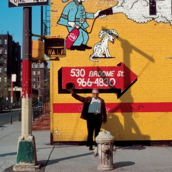 Taking a Walk and Taking Pictures in 1980s New York