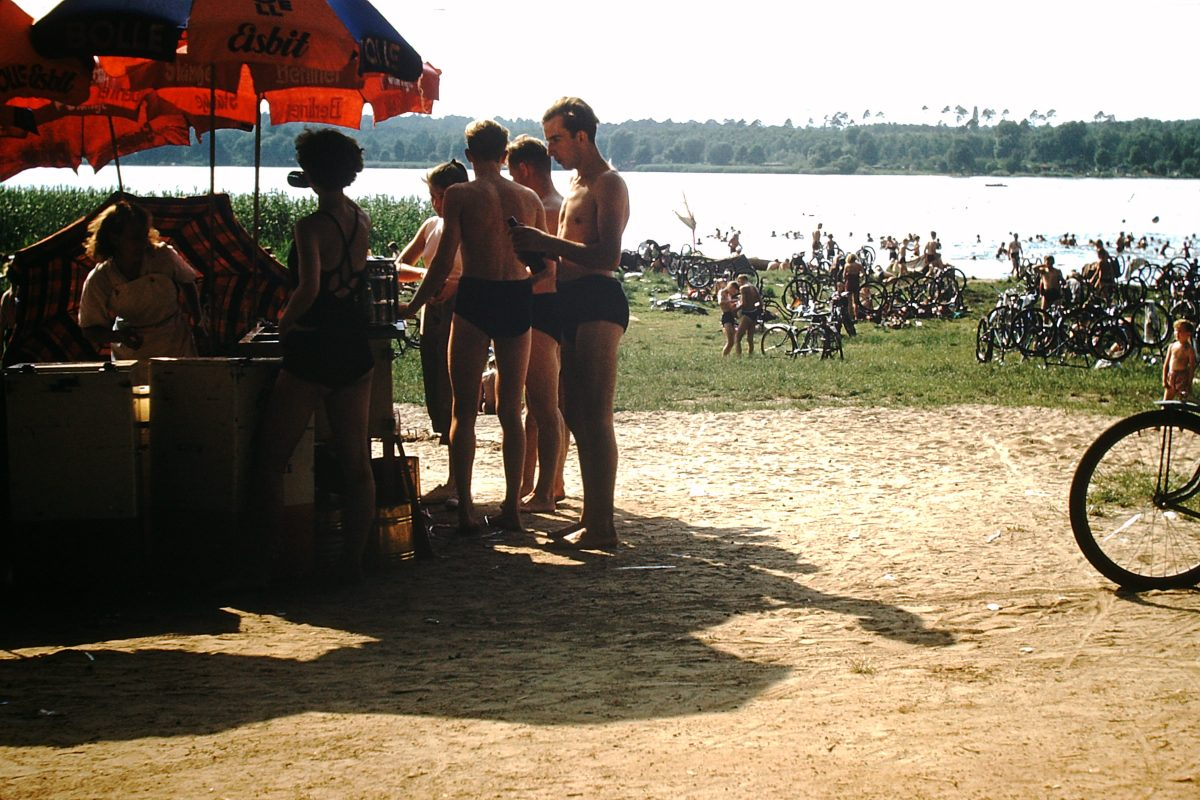 West Germany In Kodachrome 7-2-1953- Berlin at Play- July- Wannsee- Germany