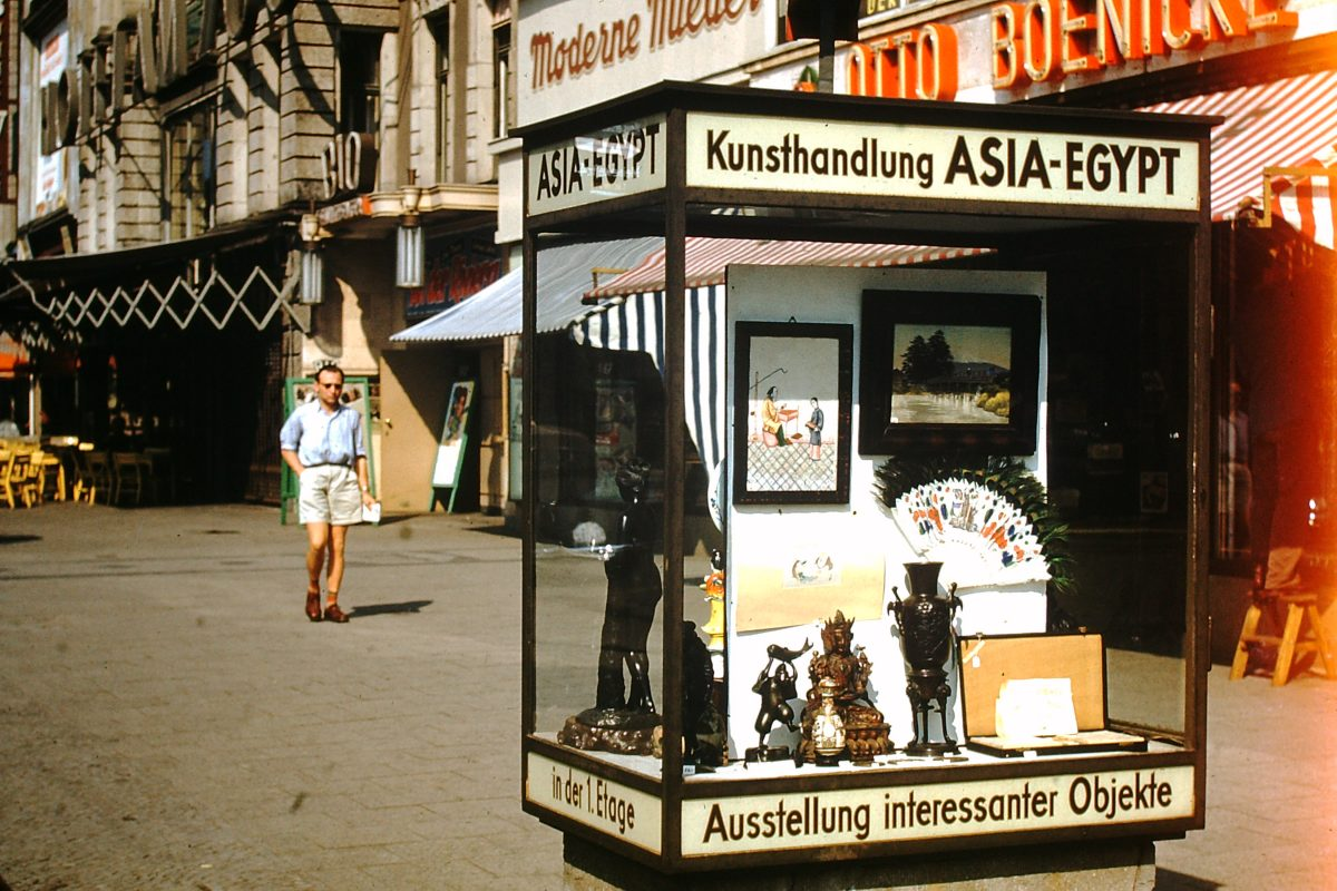 West Germany In Kodachrome7-2-1953- Kurfurstendam- Berlin- Germany