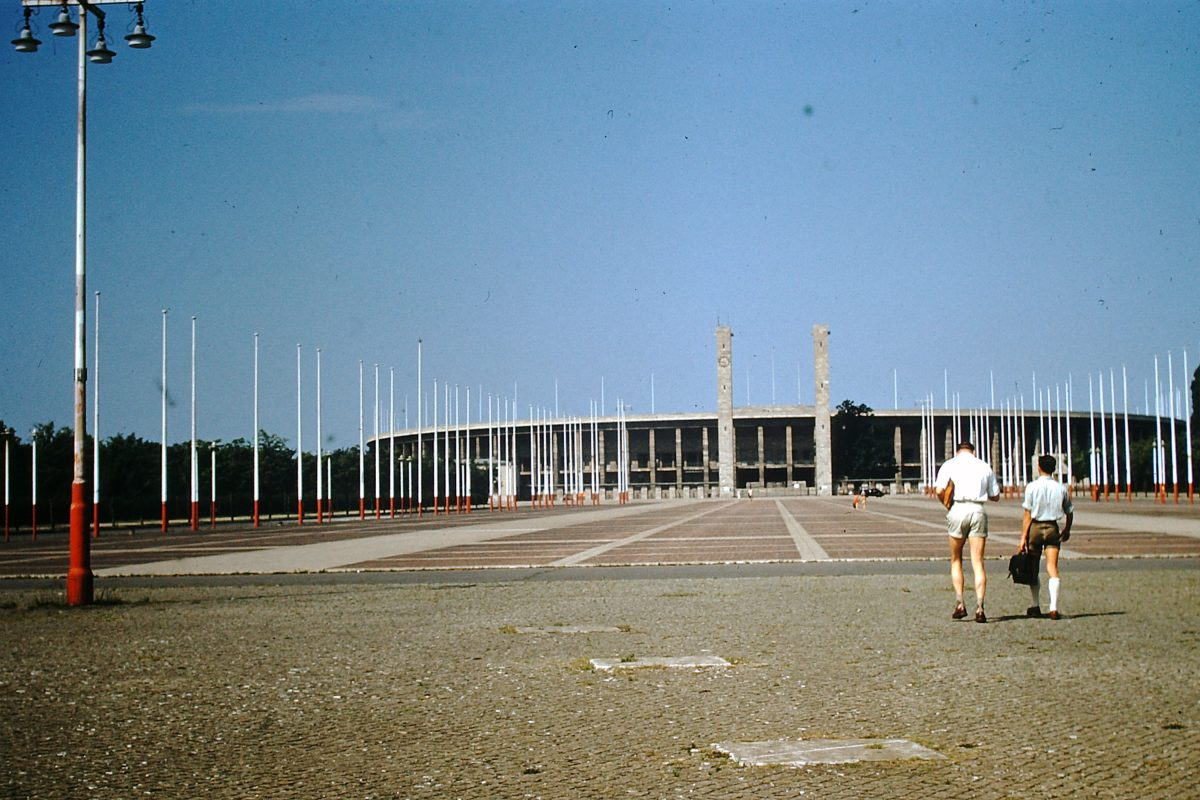 West Germany In Kodachrome7-2-1953- Olympic Stadium- Berlin- Germany