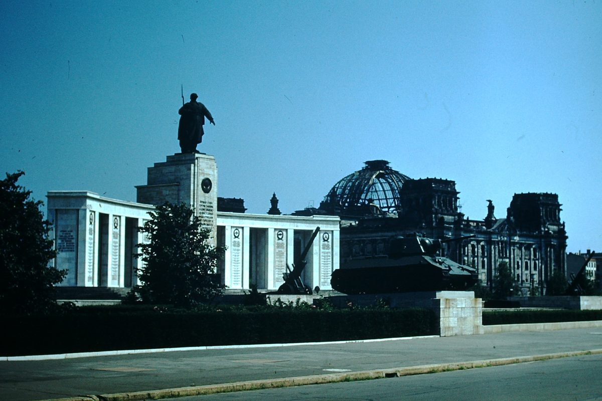1953- Russian Memorial & Reichstag- Berlin- Germany