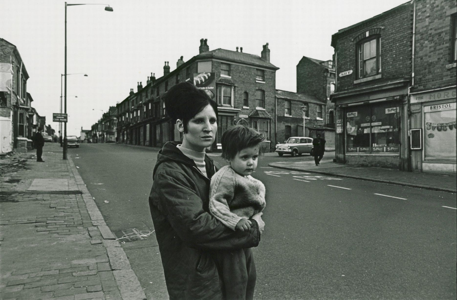 Kathleen and her daughter S, c.1968