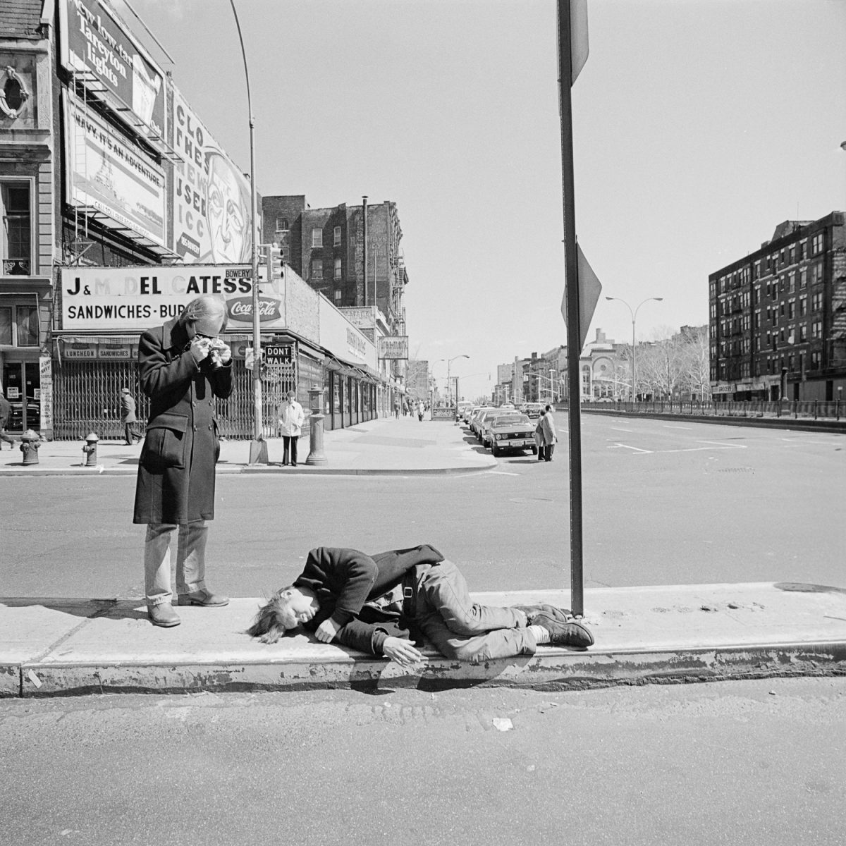 The Bowery New York - April 1977