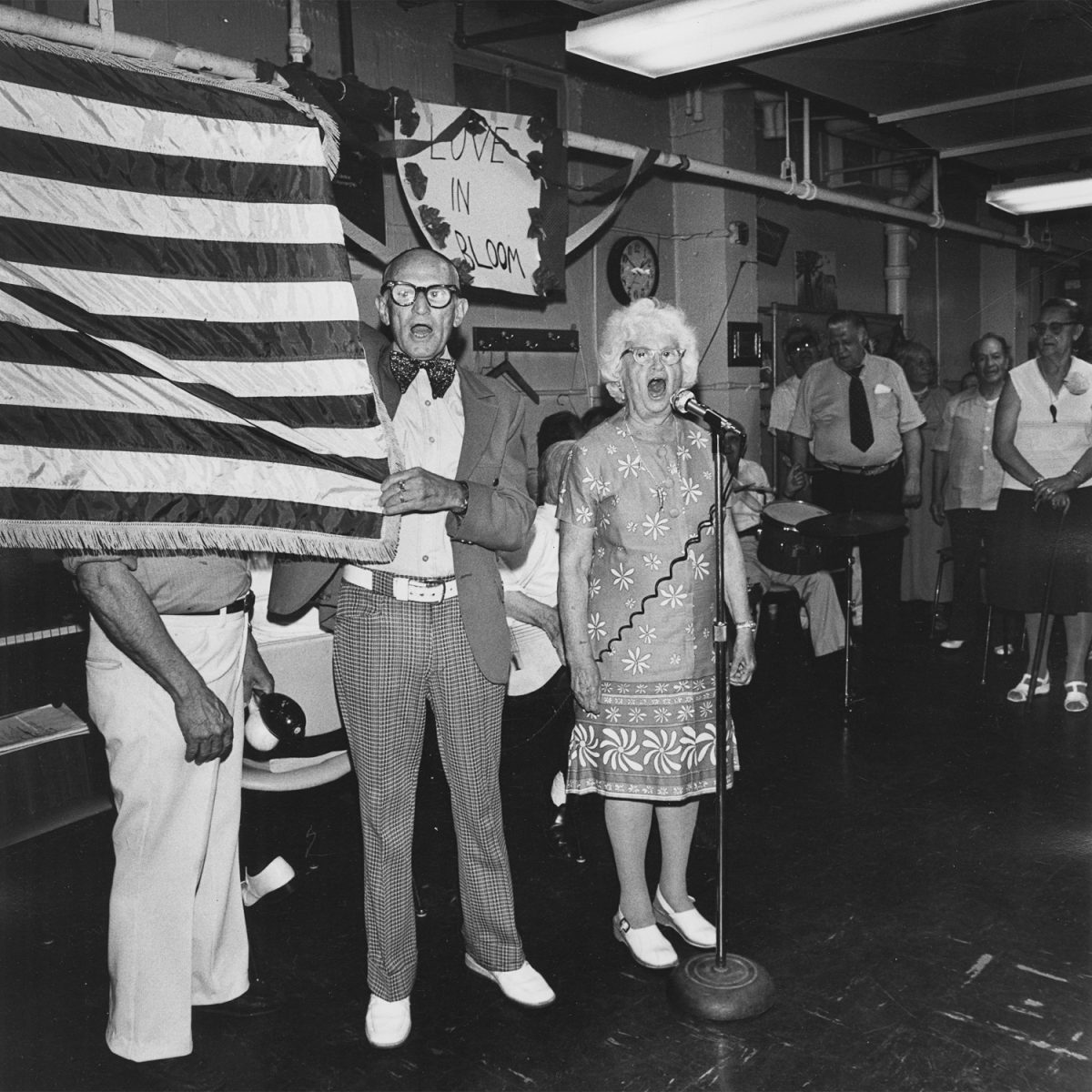 New York Love in Bloom - G-d Bless America. Henry Street Settlement. Good Companions Senior Centre - 1978