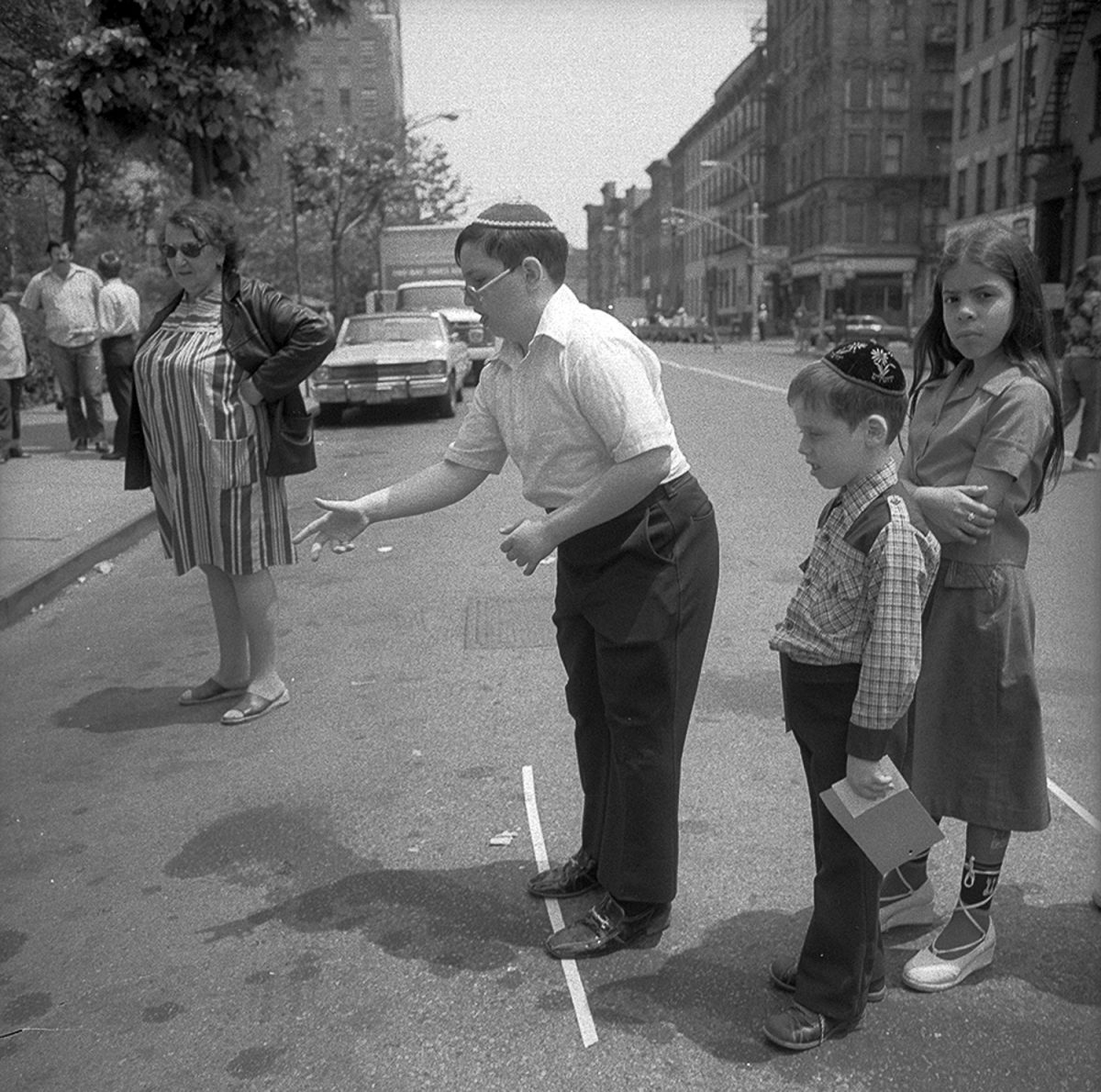 Ring Toss at Lower East Side Street Festival, New York - June 1978