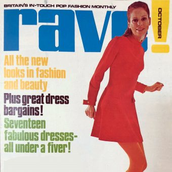 Ads and Shoots from the Rave Magazine Fashion Supplement, October 1967