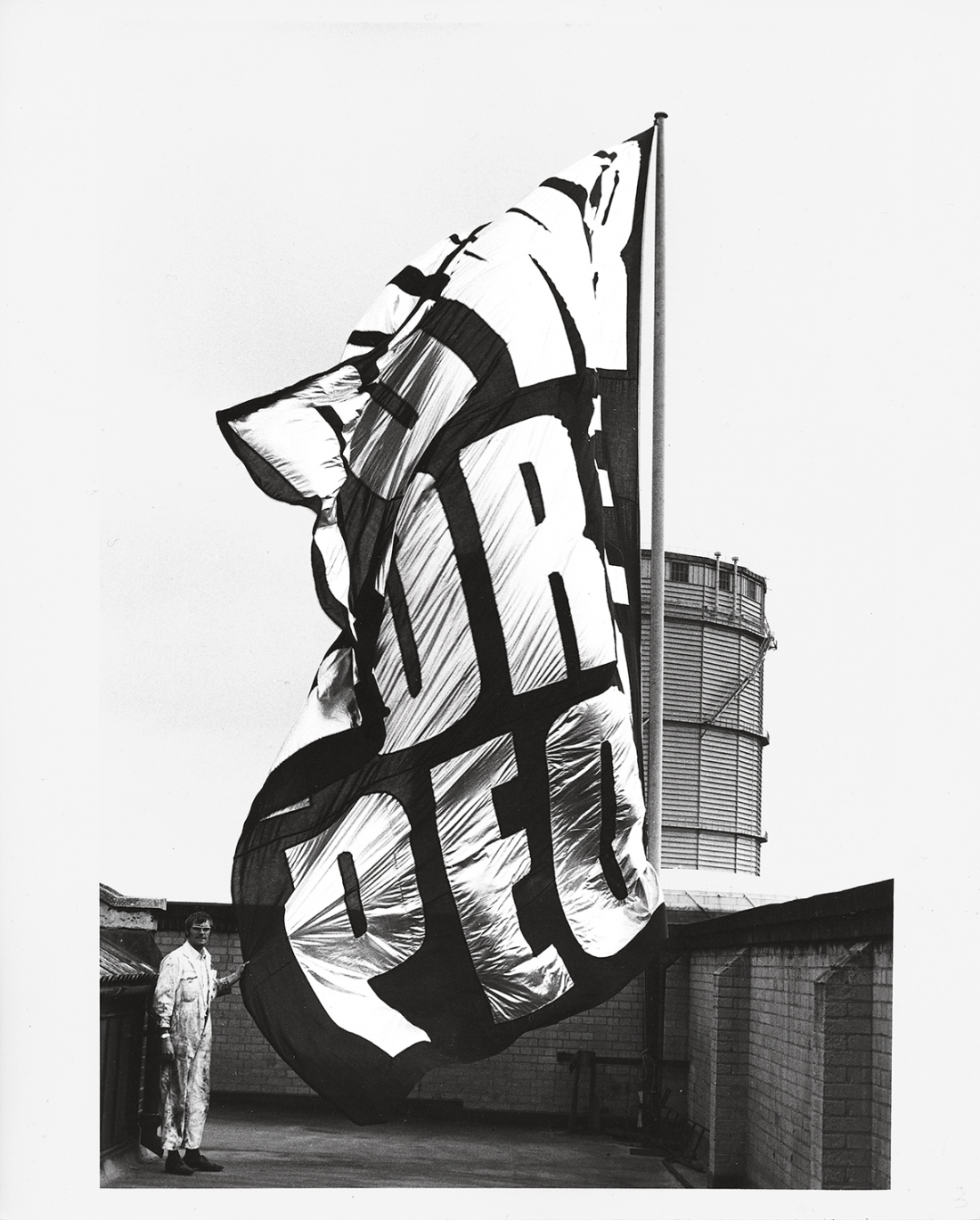 Rose Finn-Kelcey, Power for the People. Documentation Photograph #1, 1972