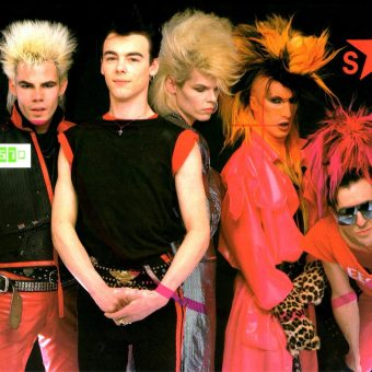 I Like A Bit of A Cavort: Sigue Sigue Sputnik Perform Success on Brazilian TV