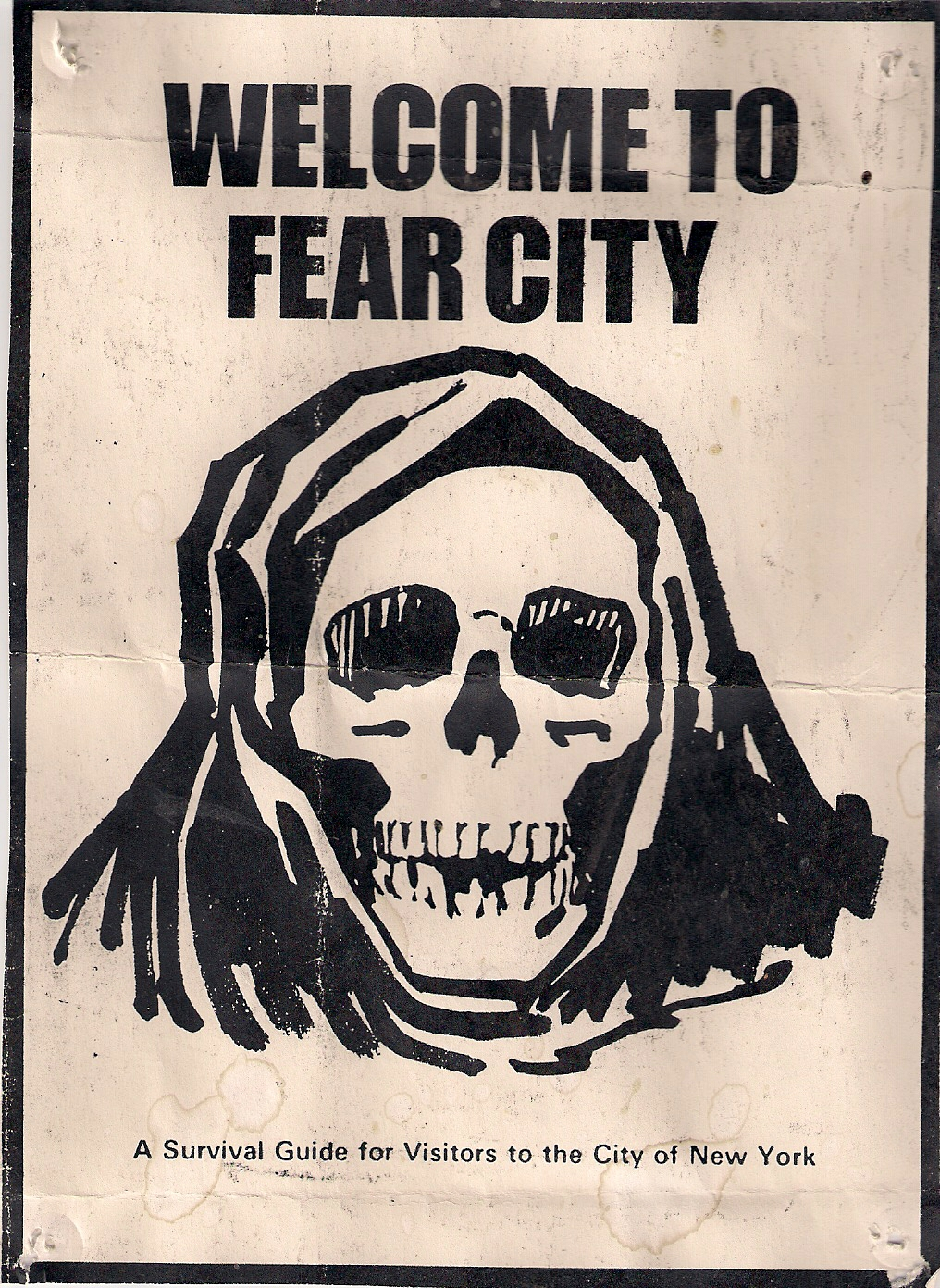WelcometofearcityNewYork1975pamphlet