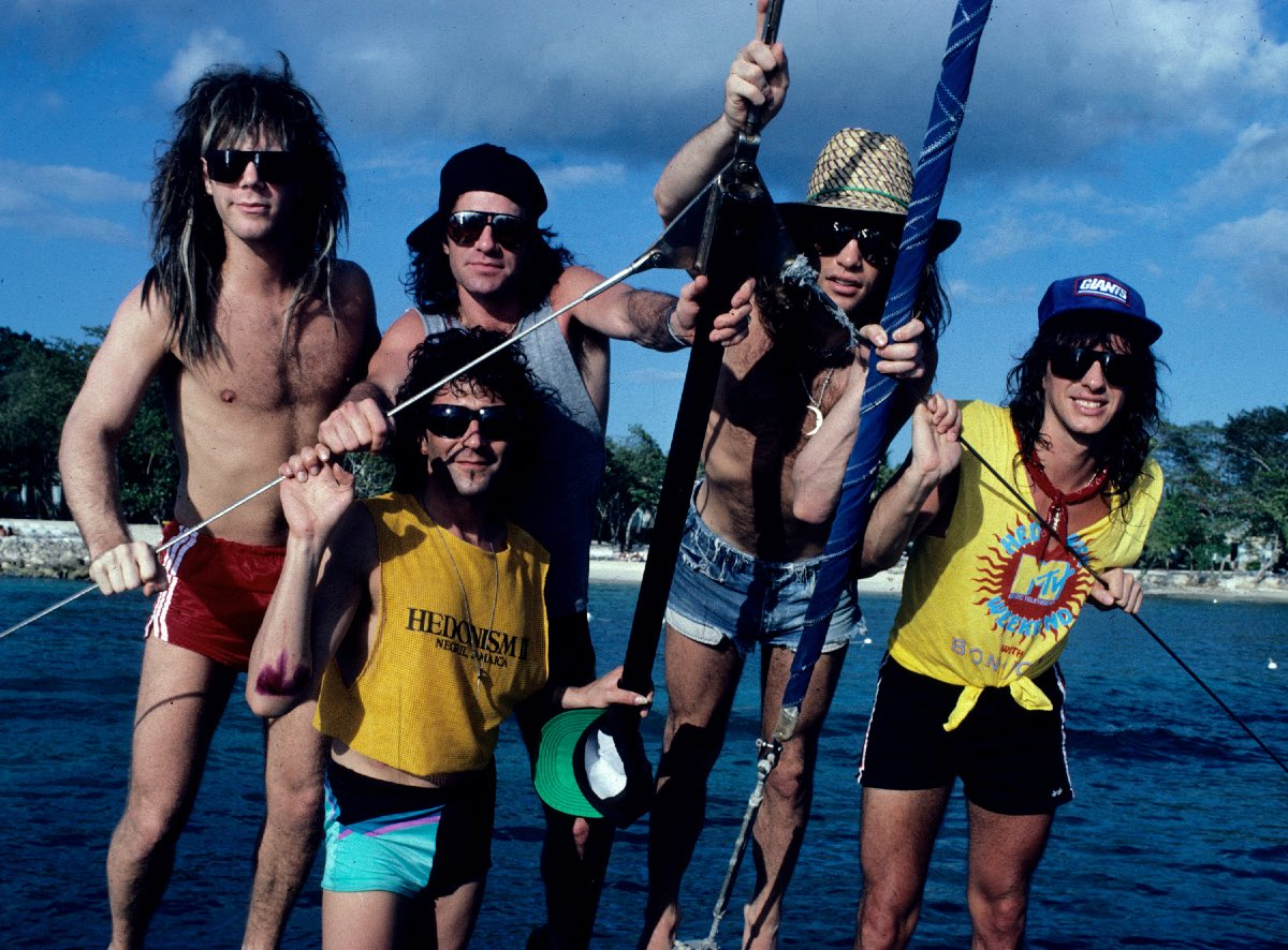 Bon Jovi in Jamaica, February 1987