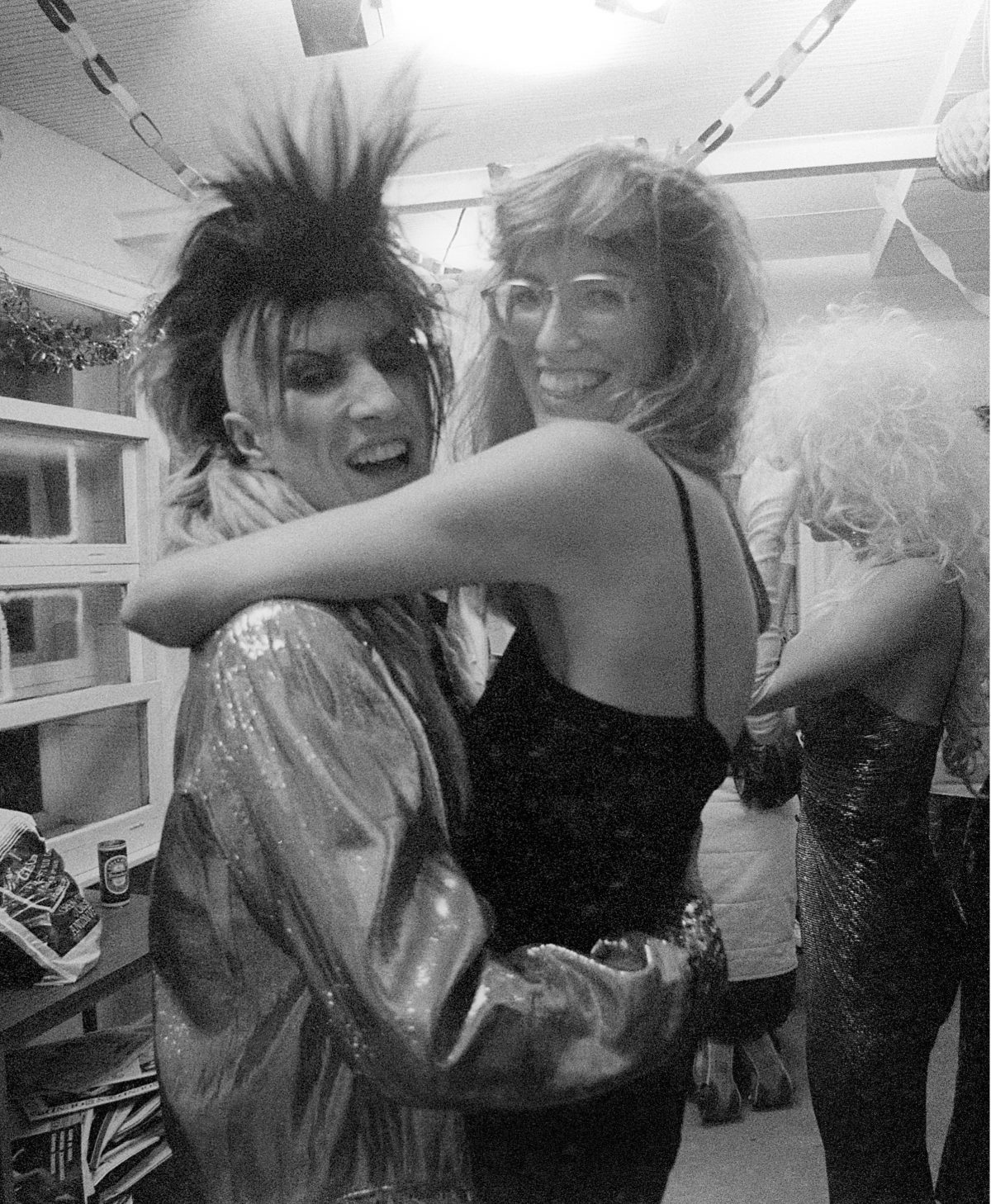 Martin Degville - Sigue Sigue Sputnik and Janet Street Porter, Abbey Road - 1985