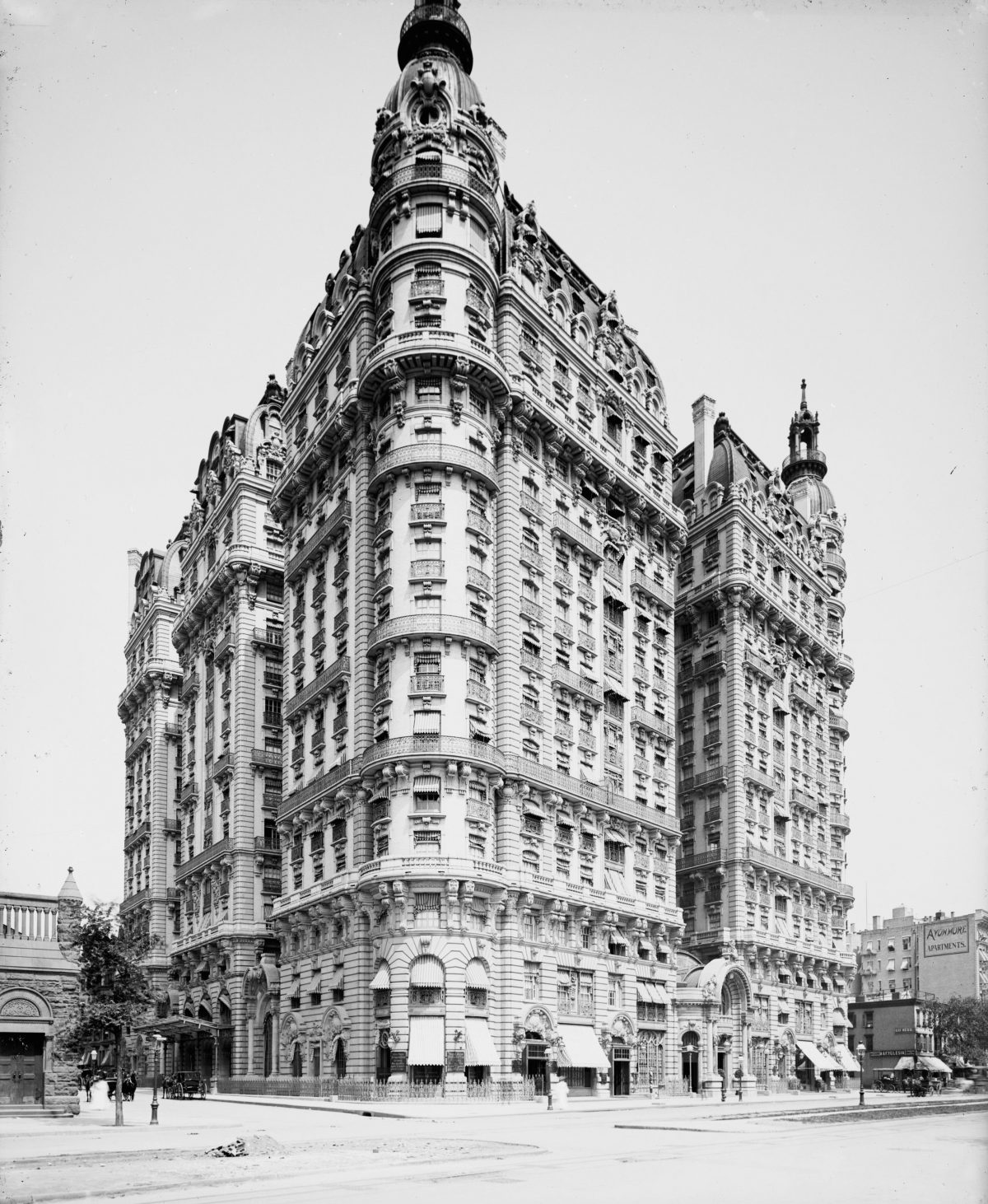 The Ansonia, 1904. The Ansonia Apartment Building On Broadway In New York City, Built In 1899. Photograph, C1904. Nyc: The Ansonia, 1904.