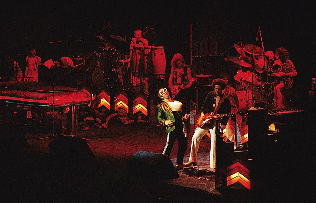 My first concert I shot - Elton John at Madison Square Garden November 29, 1974