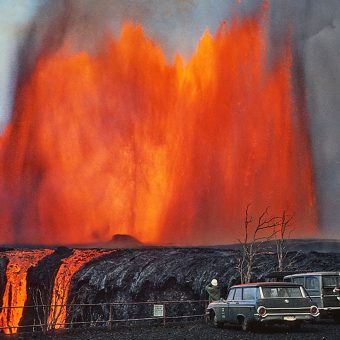 22 Great Photographs Of The Kilauea Volcano Eruption, Hawaii (1969-1974)