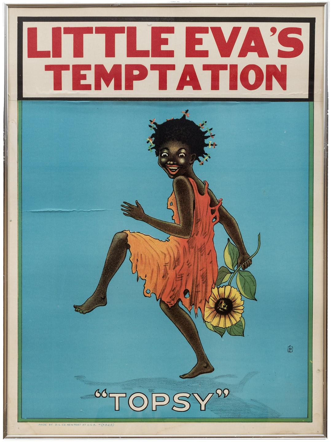 "Little Eva's Temptation, ""Topsy"" Author: Place:Newport, Kentucky Publisher:D. L. Co Date:[c. 1900]"