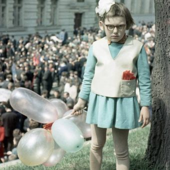 Girl At The May Day Parade – Lviv 1968