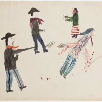 Art Of The Sioux; Childhood Visions Of War, Love And Blood At Fort Yates
